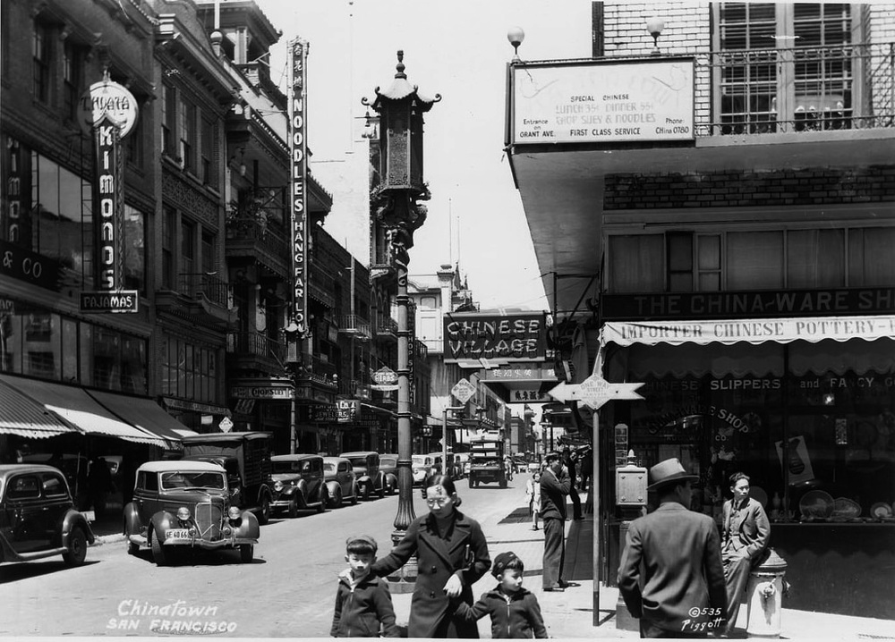 Chinatown San Fransisco 1930s Fists And 45s